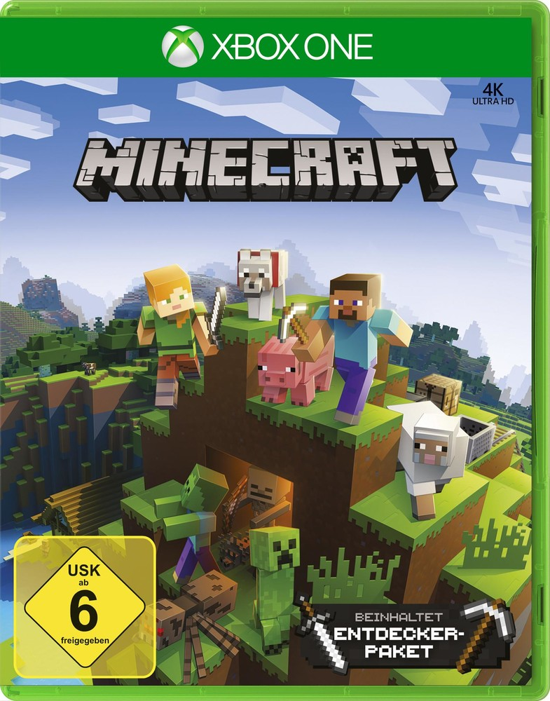 Xbox One Minecraft + Entdecker-Paket - Xbox One Games - Xbox ...