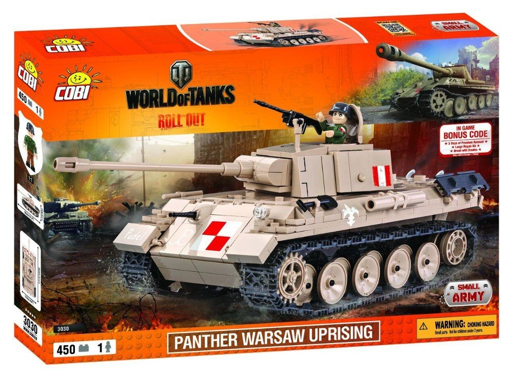 World of Tanks - Bausatz Panther (Warsaw Uprising) - Modellbau ...