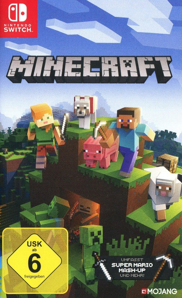 Nintendo Switch Minecraft - Nintendo Switch Edition - Nintendo ...