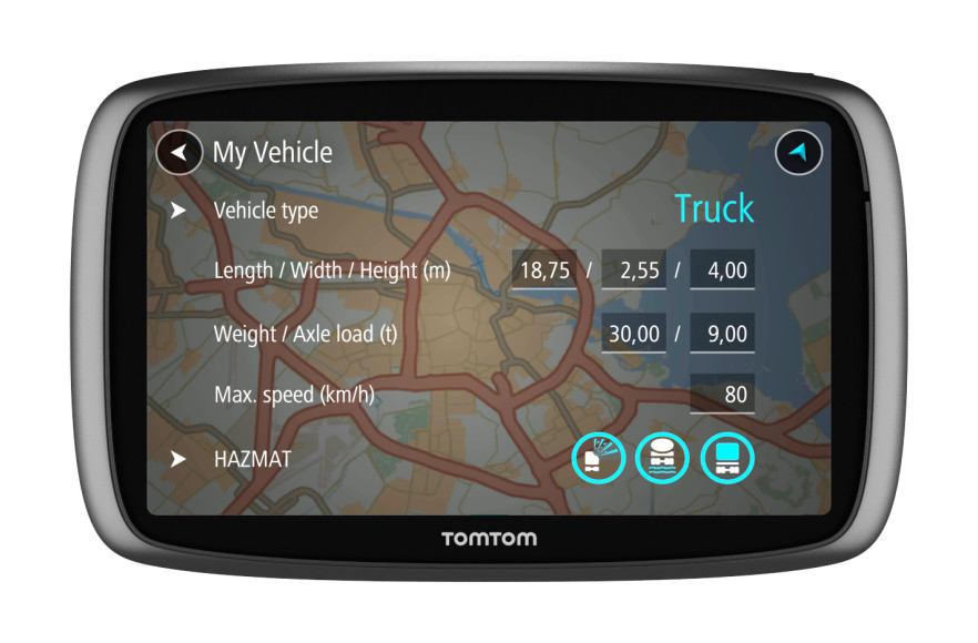 Trucker 6000 Lifetime - Mobile Navigation - Navigationsgeräte ...