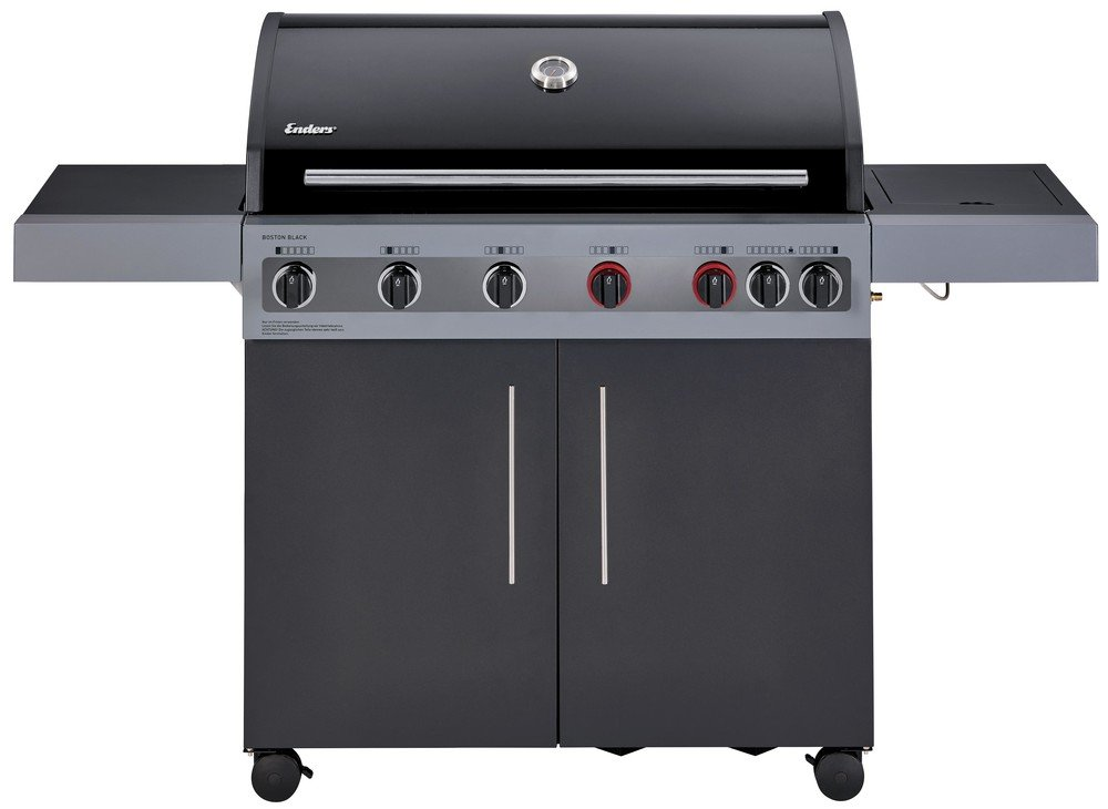 Enders Gasgrill Website : Enders gasgrill boston black 6 kr turbo bei expert kaufen